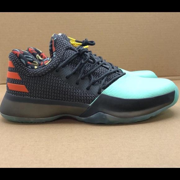"""acee12bda3bc2 Adidas James Harden Vol 1 """"Cactus Kid"""" Size 7Y"""